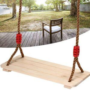 150kg Kinderschaukel Brettschaukel Schaukelsitz Holz Größe: S 40 x 16cm