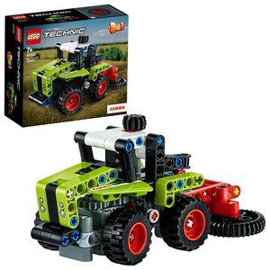 LEGO 42102 Technic Mini CLAAS XERION, 2in1 Traktor und Mähdrescher, Spielzeug für Mädchen und Jungen ab 7 Jahre, toll als Geschenk für Kinder