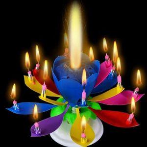 Lotus Musik Geburtstagskerze Kuchenkerze Kerze Torten Geburtstag Leuchtend Kerzen