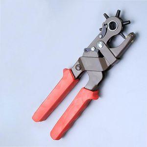 Leder Stanze Locher Lochstanze Handwerkzeug aus Hartstahl Multifunktions Uhrenbänder Gürtel Löcher