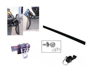 WARN Schneeräumschild TGB Target 550 Stahlschiene inkl. Montagesatz Mittelaufnahme Seilwinde