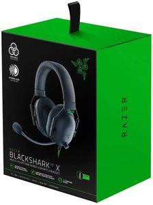 Razer Gaming Headset Blackshark V2 X Kopfhörer Esports PC PS4 Xbox 7.1 schwarz