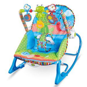 COSMOLINO Baby Wippe Baby Bouncer, Schaukelwippe, Babywippe für unterwegs, Babywippe relax Baby Bouncer Chair, Babyliege ab Geburt, Wippen für Babys