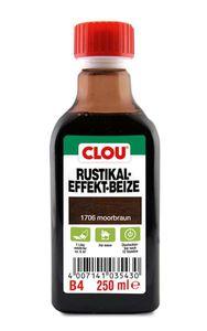 Holzbeize Rustikaleffekt CLOU moorbraun 250 ml