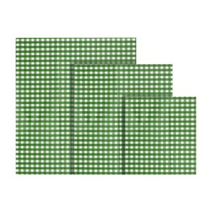 Io Nova Bienenwachstuch Größen S(18x20cm),M(25x28cm),L(33x33cm), 3-teilig (1 Set)