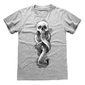 Harry Potter - T-Shirt für Damen PG542 (5XL) (Grau meliert)