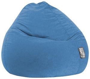 Sitzsack BeanBag Easy XXL 130 x 80 cm,  Blau Bbxxl