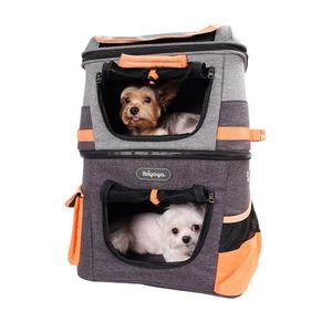 Two Tier Backpack Doppel-Rucksack für 2 Hunde von Label Ibiyaya ® Vertrieb: InnoPet ®