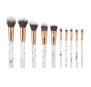 10tlg. Professional Make Up Pinsel Set Kosmetik Schminkpinsel Brush Werkzeug