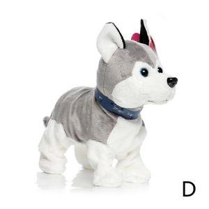 210 Husky (D) $ Kinder elektrisches Spielzeug Hund tanzt Hund gestopft Welpe Puppe intelligenten Roboter-Hund Spielzeug Hund Ton genannt werden