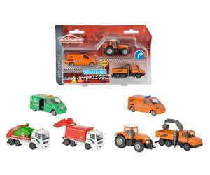 Dickie Toys - Spielfahrzeuge, City Play Set medium, 2-sort.; 212057530