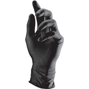 Einweghandschuhe Semperguard Nitril Style Gr.L schwarz EN388,EN374,EN455 Kat.III