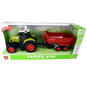 Traktor Farm Traktor 900 inkl. Anhänger mit Licht und Sound