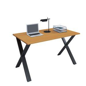 """VCM Schreibtisch Computertisch Arbeitstisch Büro Möbel PC Tisch """"Lona X"""" B. 110 x T. 80 cm: Buche"""