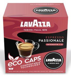 Lavazza A Modo Mio Eco Kapseln Espresso Passionale 120g, 16 Kapseln