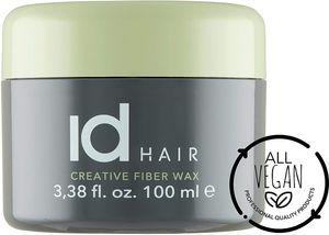 ID Hair Creative Fiber Wax 100 ml - Faser wachs - Starker und flexibler Halt - Mattes Finish - Geeignet für kurzes bis mittellanges Haar