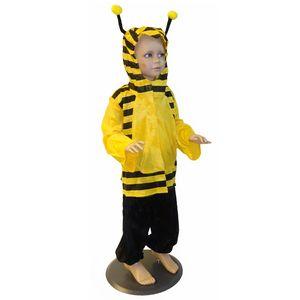 Kinder Bienen Kostüm (Oberteil mit Kapuze & Hose) Größe: 104
