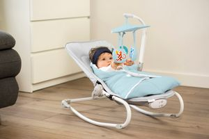 FELIO 3 in 1-Babyliege/Babywippe von Kinderkraft blau