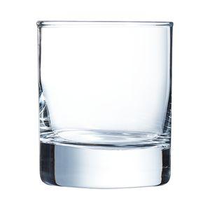 Arcoroc ARC J3312 Islande Whiskyglas, 200ml, Glas, transparent, 6 Stück