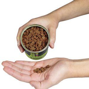 DOGTRAINERS Lamm PUR 3 x 160g getreidefrei glutenfrei als BARF-Ergänzung geeignet 100% Lamm Single Protein