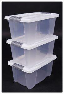 Serie in weiß: 3er Set Multibox 30x20x15 cm  # 3 STÜCK #