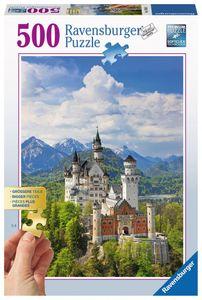 500 Teile Ravensburger Puzzle Gold Edition Märchenhaftes Neuschwanstein 13681