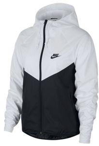Nike W Nsw Wr Jkt White/Black/Black M