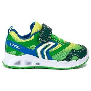 GEOX Dakin Kinder Low Sneaker Grün Schuhe, Größe:28