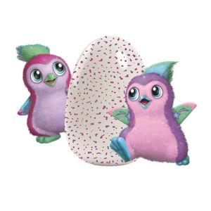 Spin Master 392-7399 Hatchimals Glittering Garden Sparkly Pengualas in dunklem violett/rosa oder dunklem lila/violett
