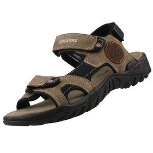 DOCKERS Herren Sandale Beige Schuhe, Größe:43