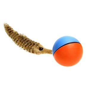 Weazel-Ball Wieselball Wiesel am Ball Rolling Ball batteriebetriebenes Spielzeug für Hunde & Katzen
