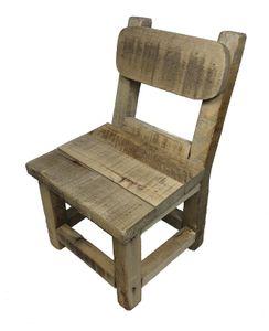 Kleiner Deko Stuhl aus Holz - Blumenstuhl