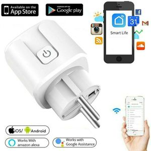 Wifi Smart Steckdose für iOS Android Amazon Alexa Google WLAN Funksteckdose Intelligente Steckdose