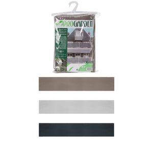 Balkon Sichtschutz Balkonumspannung 76x445 cm , Farbe:braun