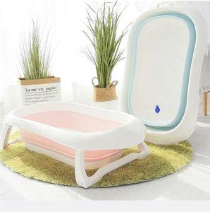 RHP Badewanne für Babys Ergonomische Babywanne Anti-Rutsch Kunststoff rutschfest klappbar - Hellgrün