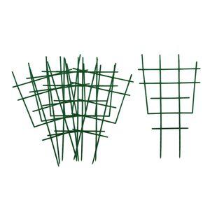 18pcs Topfpflanze Wachsende Unterstützung Garten Spalier Für Mini Kletterpflanze Topf