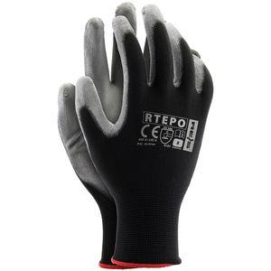 Arbeitshandschuhe SPAR-PAKET 24 PAAR Montagehandschuhe Handschuhe PolyurethanGr. 9