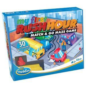 ThinkFun My First Rush Hour, Rennen-Brettspiel, Erwachsene & Kinder, 3 Jahr(e)