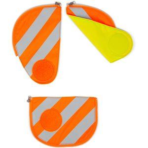 Ergobag pack Sicherheitsset mit Reflektorstreifen (3-tlg.), Orange, Fa