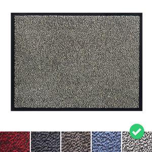 Fußmatte Schmutzfangmatte 120x180 cm, Farbe: Beige, Türmatte Fußabtreter Türvorleger