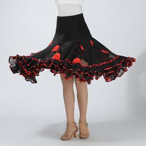 1 Stück Tanzrock rot Gilt nicht
