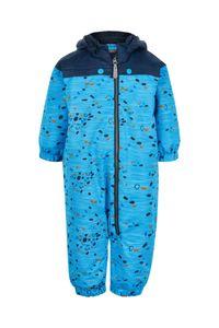 Color Kids - Overall-Schneeanzug für Babys - Dots - Hellblau, 86