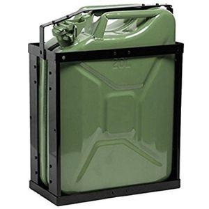 Oxid7® Kanisterhalterung für Metall Benzinkanister 20 Liter