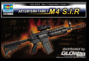 Trumpeter AR15/M16/M4 Family-M4 S.I.R. 1:3, 01916