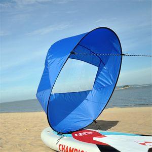 Faltbares Windpaddel-Popup-Board gegen den Wind für Kanu-Kajak-Segelzubehör LJY90528005BU