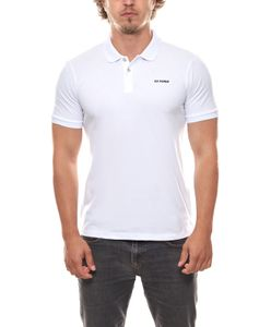 Ben Sherman Polo-Shirt schlichtes Polohemd Herren T-Shirt Weiß, Größe:XS