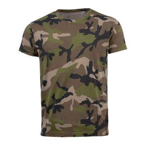 SOLS Herren Camo T-Shirt mit Tarnmuster, Kurzarm PC2166 (2XL) (Camouflage)