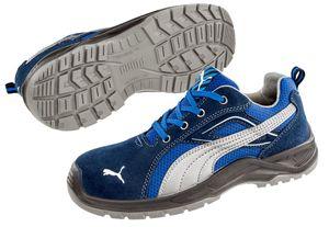 PUMA 643610 Omni Blue Low S1P 64.361.0 Sicherheitsschuhe Arbeitsschuhe DGUV 112-191, Schuhgröße:43