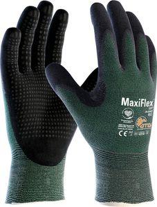 ATG Schnittschutz-Handschuhe 34-8443 Schnittschutzhandschuhe MaxiFlex Cut 2492 Mehrfarbig grün/schwarz 11
