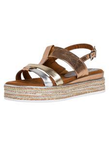 Marco Tozzi Damen Sandale Rosa 2-2-28709-24 F-Weite Größe: 41 EU